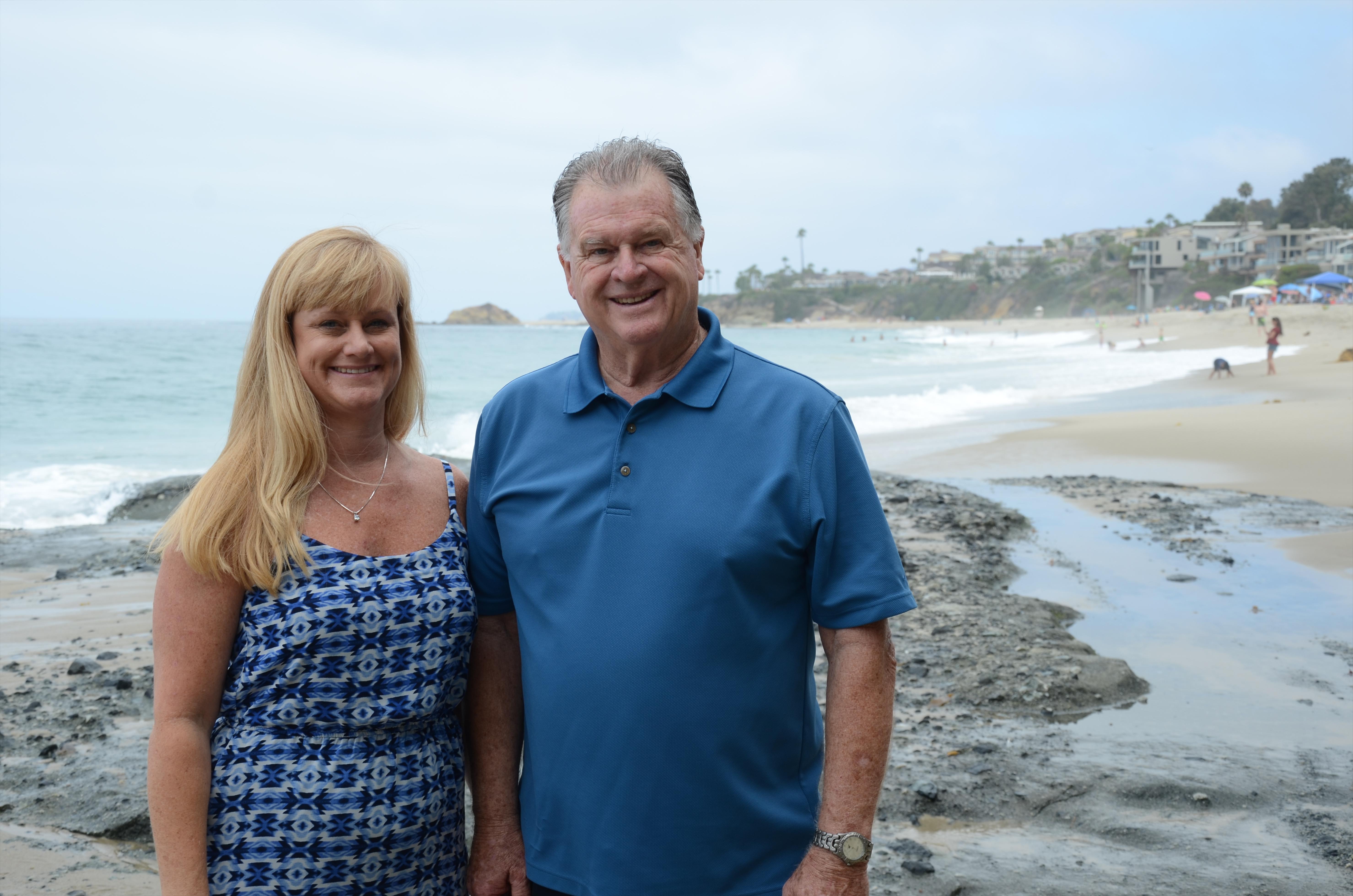 Optometrist in Laguna Beach Bill Harrison and Alicia Harrison