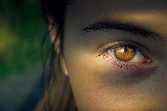 eyecloseup