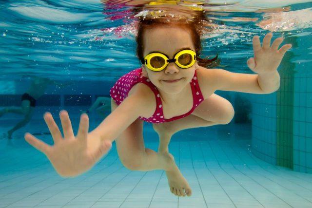 Children's Swim Goggles in Humble, Texas