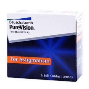 bausch+lomb purevision toric for astigmatism contact lenses