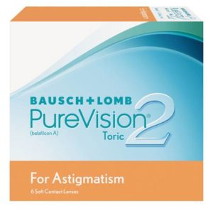 purevision 2 for astigmatism contact lenses