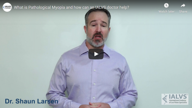Screenshot 2019 11 07 What is Pathological Myopia and how can an IALVS doctor help   YouTube