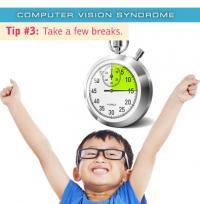 Colorado Springs eye doctor's computer vision syndrome Tip #3: Take breaks