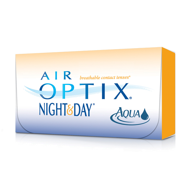 AIR OPTIX NIGHTANDDAY AQUA Box