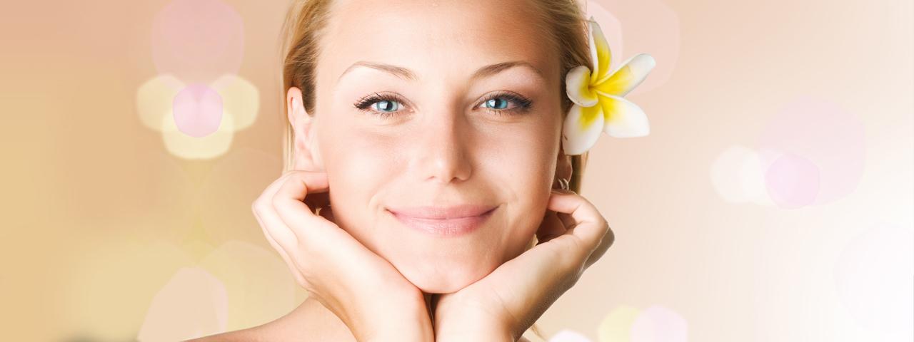 Eye doctor, woman with a flower in her hair in Rocky Mount & Roanoke, VA