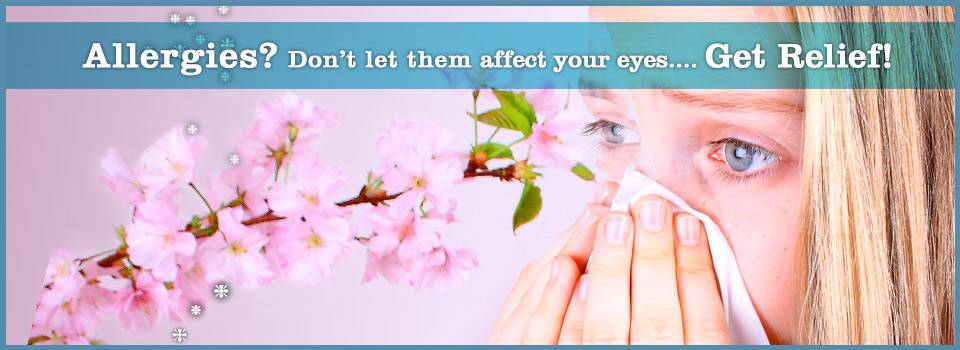 Eye allergies? Get relief