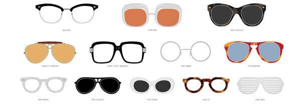 Designer Frames Through the Ages