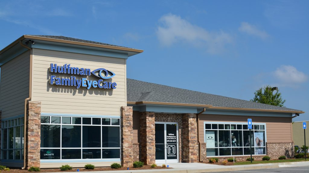 Huffman Family EyeCare outside
