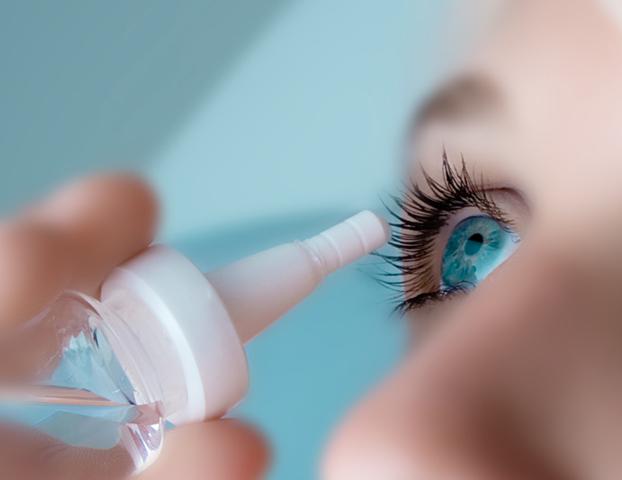 eye drops blues aqua