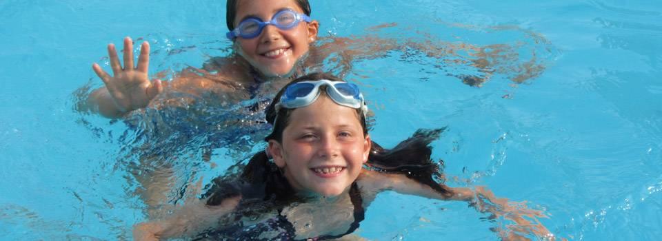 Children swimming in Copperas Cove, TX