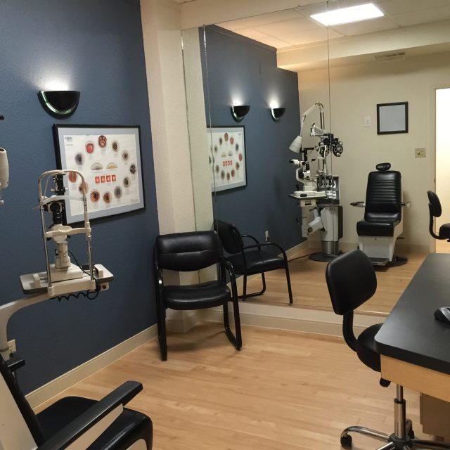 exam room mirror cove eyecare