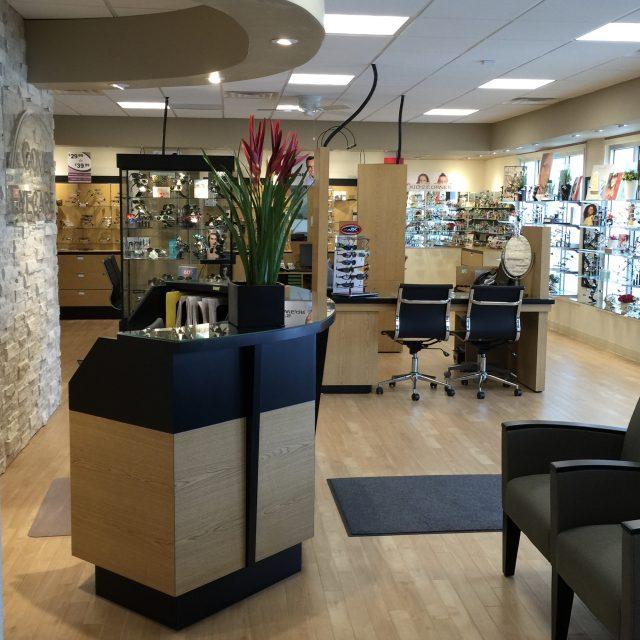 reception area cove eyecare
