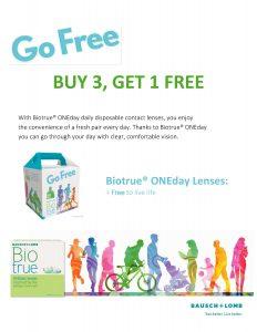 Go Free POP B3G1