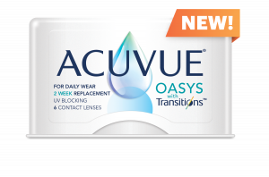 Acuvue Oasys Transition NEW Flash