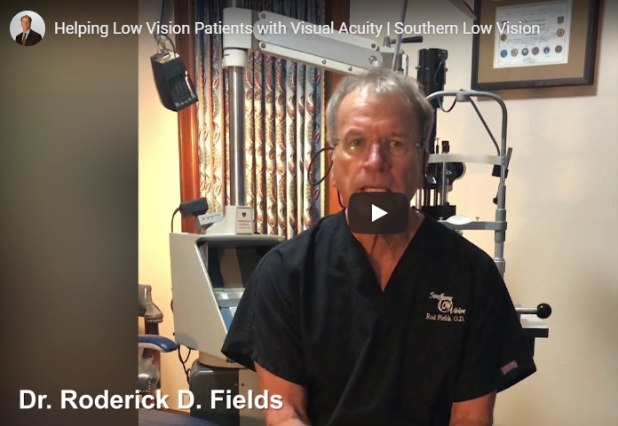 Helping Low Vision Patients with Visual Acuity Southern Low Vision   YouTube