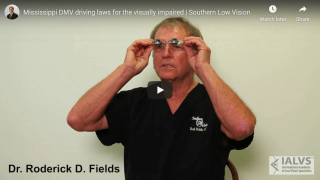 Screenshot 2020 04 27 Mississippi DMV driving laws for the visually impaired Southern Low Vision