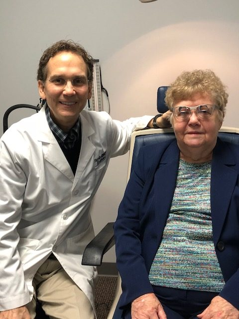 Dr Helps Legally Blind Drive