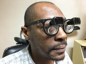 low vision patient can read again