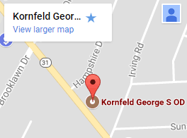 Dr Kornfeld google map
