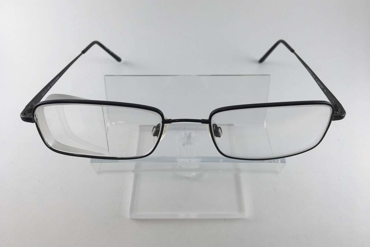 Older Woman Side Vision Awareness Glasses
