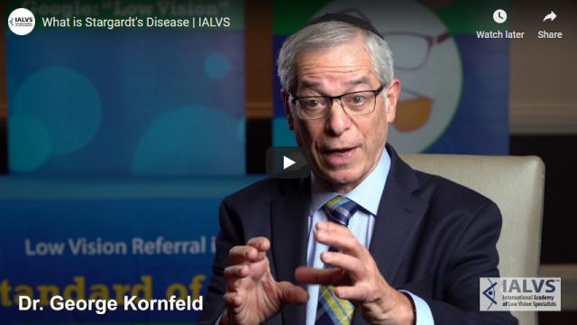 Screenshot 2020 01 05 What is Stargardts Disease IALVS YouTube