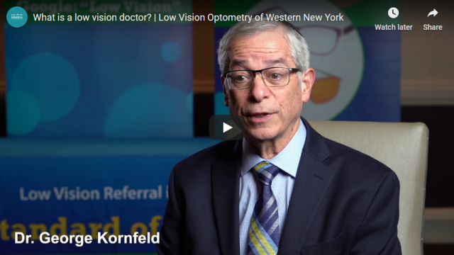 Screenshot 2020 01 05 What is a low vision doctor Low Vision Optometry of Western New York YouTube