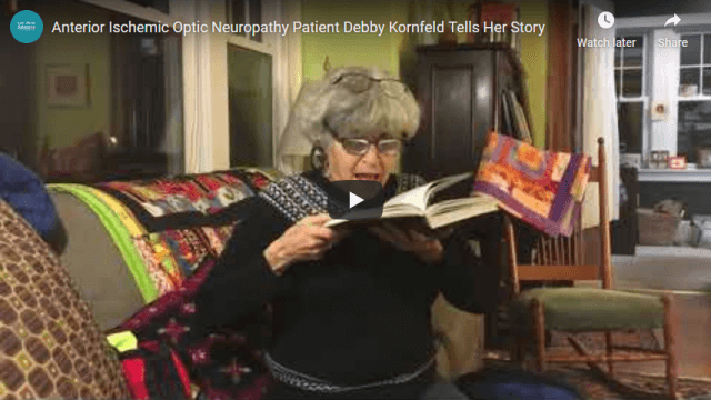Screenshot 2020 04 15 Anterior Ischemic Optic Neuropathy Patient Debby Kornfeld Tells Her Story