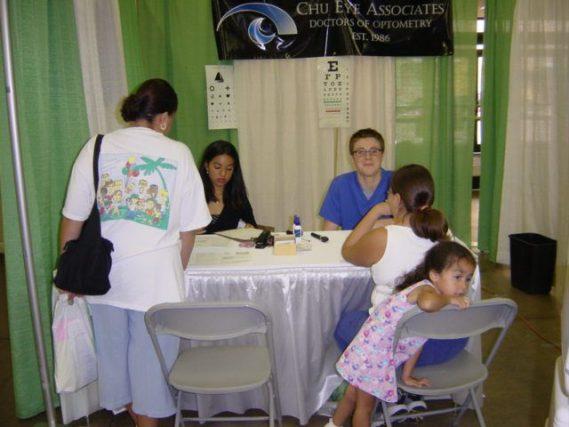 Free Eye exams charity