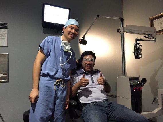 LASIK Patient with Dr. Richard Chu