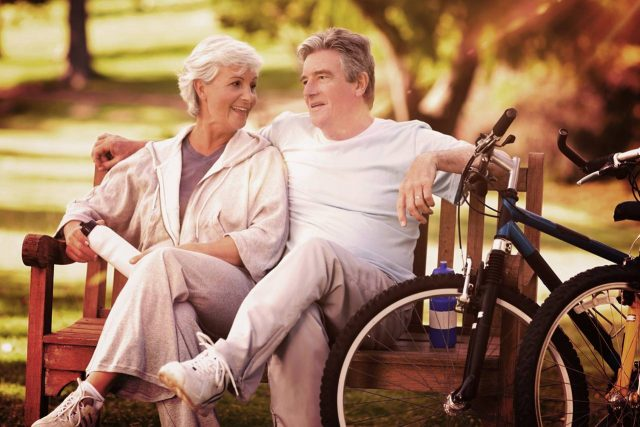 optometrist, Older Couple Discussing Cataract Surgery in Fort Worth, Southlake, Texas