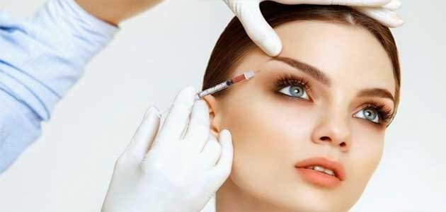 eye doctor, botox injection done to face of young lady in Fort Worth, Southlake, Texas