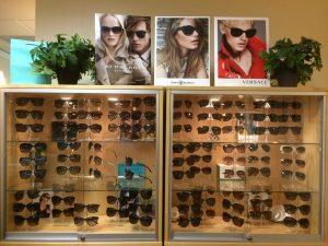 Rainbow Optometry Sunglasses Display