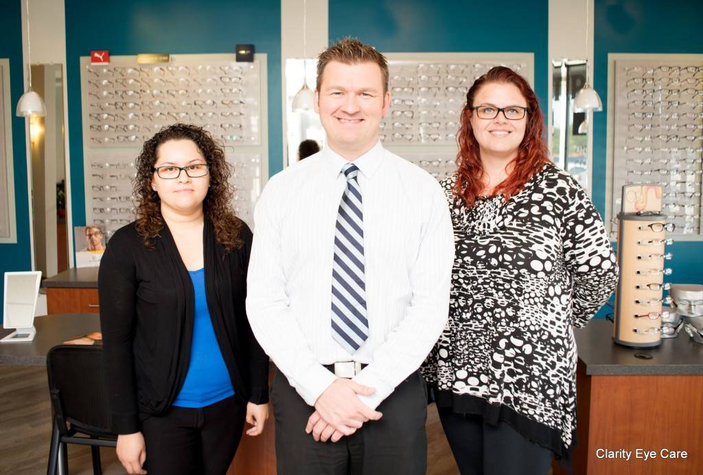 Lombard Eye exam and optical staff