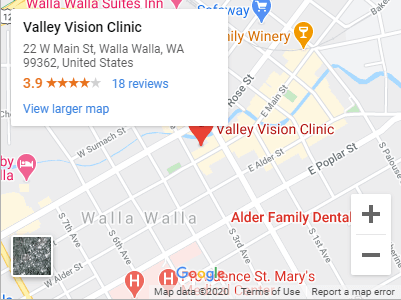 Valley Vision Clinic Google Maps