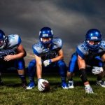 football athletes playing without glasses or contacts, after using Ortho-K