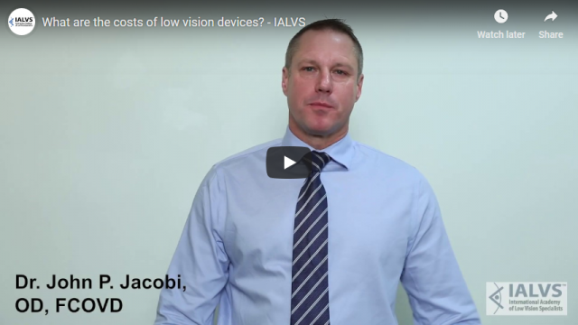 Screenshot 2019 03 22 What are the costs of low vision devices   IALVS   YouTube