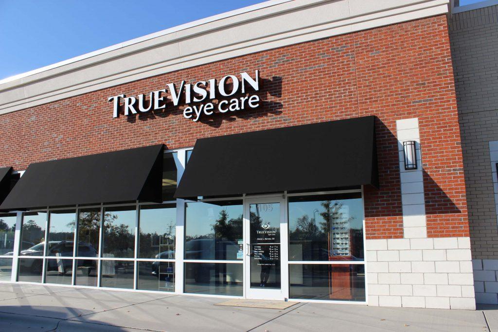 TrueVision exterior - optometrist Morrisville NC