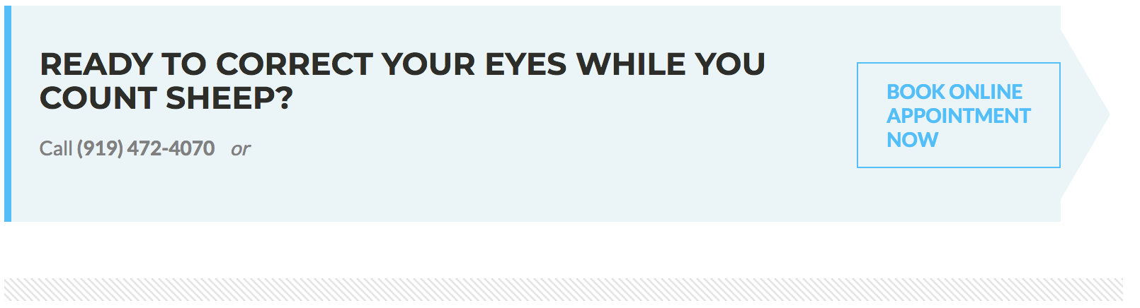 correct your eyes banner