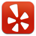 yelp red square icon