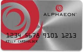 alphaeon credit card