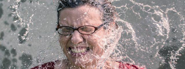 Eye doctor, woman wearing specialty eyewear in Plano, TX