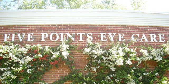 Five Points Eye Care exterior close up
