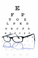 eye chart - Athens eye exam