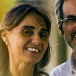 Eye Doctor, man wearing eyeglasses with his wife in Athens, GA.