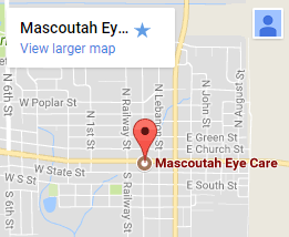 Mascoutah Eye Care google map