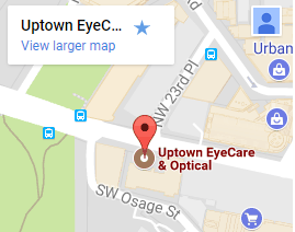 Uptown EyecareandOptical google map small