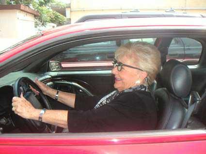 C Buckley driving