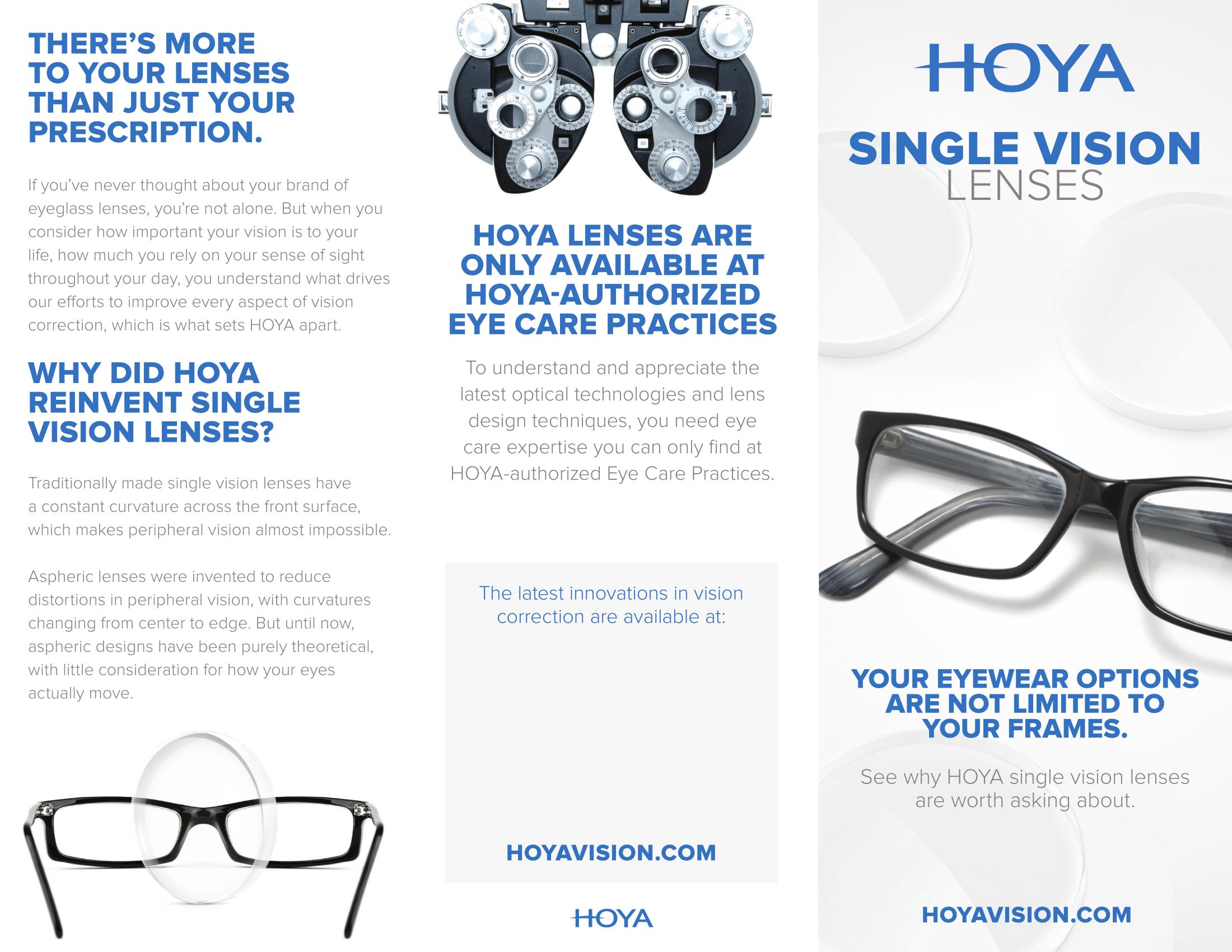 HOYA Single Vision Lens