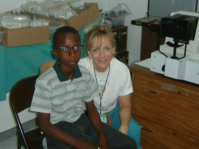 Indian Mound Eye Clinic Outreach in Haiti