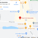 visual care associates map